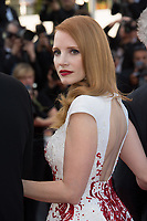 Jessica Chastain at the Closing Gala for the 70th Festival de Cannes, Cannes, France. 28 May 2017<br /> Picture: Paul Smith/Featureflash/SilverHub 0208 004 5359 sales@silverhubmedia.com