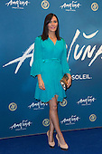 London, UK. 19 January 2016. Pictured: Linzi Stoppard. Celebrities arrive on the red carpet for the London premiere of Amaluna, the latest show of Cirque du Soleil, at the Royal Albert Hall.