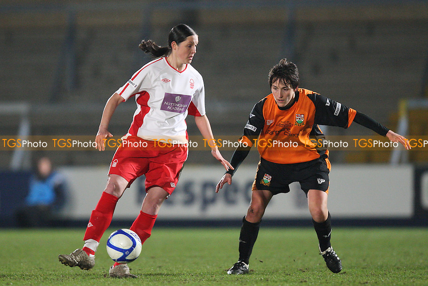 Barnet Ladies vs Nottingham Forest Ladies - FA Women's Premier League Cup Final at, Adams Park, Wycombe Wanderers FC - 24/03/11 - MANDATORY CREDIT: Gavin Ellis/TGSPHOTO - Self billing applies where appropriate - Tel: 0845 094 6026