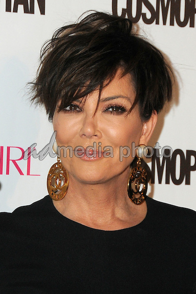 12 October 2015 - Hollywood, California - Kris Jenner. Cosmopolitan 50th Birthday Celebration held at Ysabel. Photo Credit: Byron Purvis/AdMedia