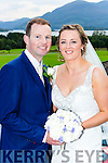 Valarie Fraser, Tipperary Town daughter of Johnny and Bridie, and Dylan Brennan, Park Road, Killarney son of Patrick and Mary who were married in a civil ceremony in the Castlerosse Hotel on Saturday, Colin Brennan was best man, groomsman was Gareth Fitzgerald, bridesmaids were Mia brennan and Shenice Good, the couple will reside in Beaufort