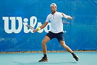 18th July 2020, Cannes, France;   Hugo Grenier France at the Challenge Elite FFT tournament