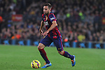 22.11.2014 Barcelona. La Liga day 12. Picture show Jordi Alba in action during game between FC Barcelona v Sevilla at Camp Nou