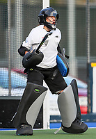 Maddie Williamson. International Hockey Warmup game, Blacksticks women v Chile.Auckland Grammar Hockey Turf, Auckland, New Zealand. Thursday 13 December 2018. Photo: Simon Watts/Hockey NZ