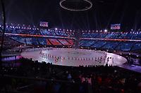 OLYMPIC GAMES: PYEONGCHANG: 09-02-2018, PyeongChang Olympic Stadium, Olympic Games, Opening Ceremony, Team Hong Kong, ©photo Martin de Jong