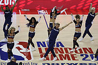 17th January 2019, The O2 Arena, London, England; NBA London Game, Washington Wizards versus New York Knicks; The Washington Wizards cheerleaders perform during a time out