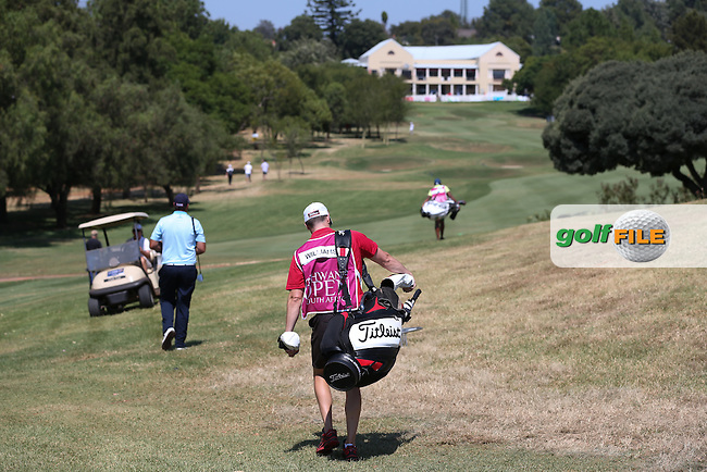View down the 18th during Round Three of the Tshwane Open 2015 at the Pretoria Country Club, Waterkloof, Pretoria, South Africa. Picture:  David Lloyd / www.golffile.ie. 14/03/2015