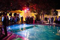 Pool at 2013 Hearts & Stars Gala at Tierra Veritatis, Miami Beach, FL, March 9, 2013