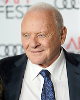 "18 November 2019 - Hollywood, California - Anthony Hopkins. 2019 AFI Fest's "" The Two Popes"" Los Angeles Premiere held at TCL Chinese Theatre. Photo Credit: Birdie Thompson/AdMedia"