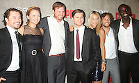 August 14, 2012 Kevin Ryan, Tanya Fischer, Dyian Taylor, Tom Weston-Jones,  Anastasia Griffith,  Kyle Schmid, Ato Essandoh at a premiere of BBC America's Copper at the Museum of Modern Art in New York City. © RW/MediaPunch Inc.