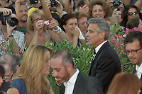 The first day at the start of the 70th Venice film festival and first Red Carpet. Venice August 28 2013. In the photo George Cooney. Photo credit Adamo Di Loreto/BuenaVista*photo