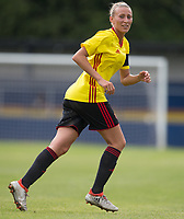 Anneka Nuttall of Watford Ladies during the pre season friendly match between Stevenage Ladies FC and Watford Ladies at The County Ground, Letchworth Garden City, England on 16 July 2017. Photo by Andy Rowland / PRiME Media Images.