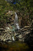 Reef Bay Waterfall and Petroglyphs<br /> Virgin Islands National Park<br /> St. John, US Virgin Islands