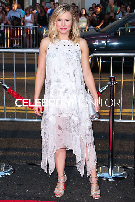 HOLLYWOOD, LOS ANGELES, CA, USA - SEPTEMBER 15: Actress Kristen Bell arrives at the Los Angeles Premiere Of Warner Bros. Pictures' 'This Is Where I Leave You' held at the TCL Chinese Theatre on September 15, 2014 in Hollywood, Los Angeles, California, United States. (Photo by Xavier Collin/Celebrity Monitor)