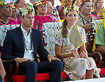 """CATHERINE, DUCHESS OF CAMBRIDGE AND PRINCE WILLIAM.at the farewell ceremony in Funafuti, Tuvalu_19/09/2012.Mandatory credit photo: ©DIASIMAGES/NEWSPIX INTERNATIONAL..(Failure to credit will incur a surcharge of 100% of reproduction fees)..                **ALL FEES PAYABLE TO: """"NEWSPIX INTERNATIONAL""""**..IMMEDIATE CONFIRMATION OF USAGE REQUIRED:.DiasImages, 31a Chinnery Hill, Bishop's Stortford, ENGLAND CM23 3PS.Tel:+441279 324672  ; Fax: +441279656877.Mobile:  07775681153.e-mail: info@newspixinternational.co.uk"""