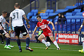 9th September 2017, Macron Stadium, Bolton, England; EFL Championship football, Bolton Wanderers versus Middlesbrough;  DOwming of Middlesbrough cuts back inside