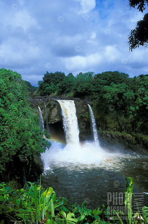 Rainbow Falls.  Located near the town of Hilo on the Big isle of Hawaii.