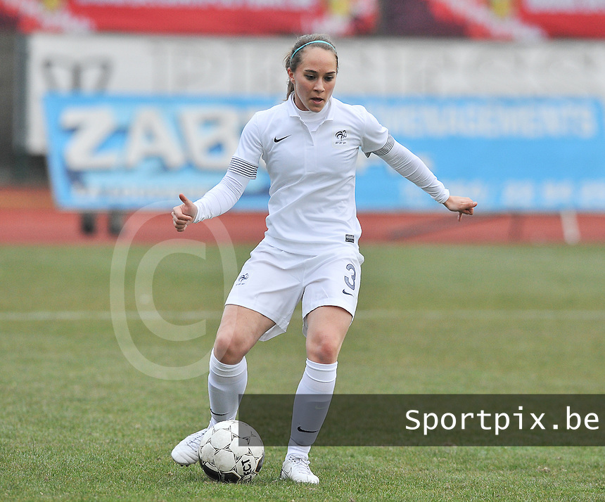 France U19 - Belgium U19 : Charlotte Lorgere.foto DAVID CATRY / Nikonpro.be