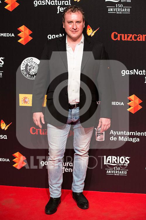 Fernando Cayo attends to the cocktail presentation of the XIX Malaga Film Festival at Circulo de Bellas Artes in Madrid. April 06, 2016. (ALTERPHOTOS/Borja B.Hojas)