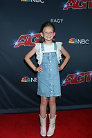 """LOS ANGELES - AUG 13:  Ansley Burns at the """"America's Got Talent"""" Season 14 Live Show Red Carpet at the Dolby Theater on August 13, 2019 in Los Angeles, CA"""