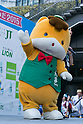 Gunma Prefecture mascot character Gunma-chan performs during the ''Local Characters Festival in Sumida 2015'' on May 31, 2015, Tokyo, Japan. The festival is held by Sumida ward, Tokyo Skytree town, the local shopping street and ''Welcome Sumida'' Tourism Office. Approximately 90 characters attended the festival. According to the organizers the event attracts more than 120,000 people every year. The event is held form May 30 to 31. (Photo by Rodrigo Reyes Marin/AFLO)