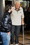 """American actor David Prowse (Darth Vader) during the presentation of the film """"I Am Your Father"""" at Verdi Cinemas in Madrid, November 18, 2015.<br /> (ALTERPHOTOS/BorjaB.Hojas)"""