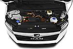 Car Stock 2020 Man TGE - 4 Door Refrigerated Van Engine  high angle detail view