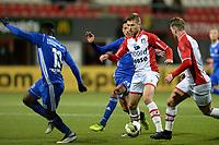 EMMEN - Voetbal, FC Emmen - Almere City, Jens Vesting, Jupiler League, seizoen 2017-2018, 17-11-2017,  FC Emmen speler Alexander Bannink