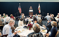 Occidental College's luncheon for the Ben Culley Society on Tuesday, Sept. 26, 2017<br />