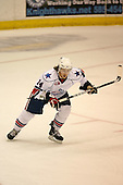 March 13, 2009:  Left Wing Michael Duco (14) of the Rochester Amerks, AHL affiliate of the Florida Panthers, in the first period during a game at the Blue Cross Arena in Rochester, NY.  Toronto defeated Rochester 4-2.  Photo copyright Mike Janes Photography 2009
