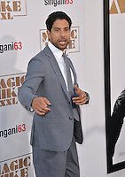 Adam Rodriguez at the world premiere of his movie &quot;Magic Mike XXL&quot; at the TCL Chinese Theatre, Hollywood.<br /> June 25, 2015  Los Angeles, CA<br /> Picture: Paul Smith / Featureflash