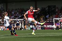 Jill Roord of Arsenal goes close during Arsenal Women vs Tottenham Hotspur Women, Friendly Match Football at Meadow Park on 25th August 2019
