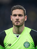 Goalkeeper Craig Gordon of Celtic during the UEFA Champions League GROUP match between Manchester City and Celtic at the Etihad Stadium, Manchester, England on 6 December 2016. Photo by Andy Rowland.