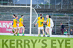 South Kerry in action against  Legion at the Kerry County Senior Football Final at Fitzgerald Stadium on Sunday.