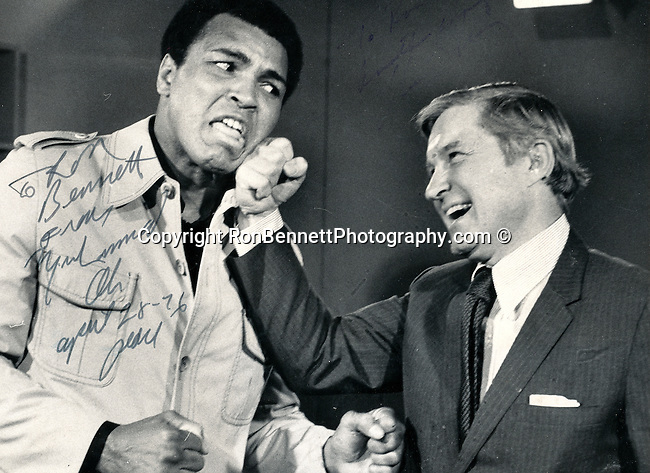 Muhammad Ali Cassius and  Senator Charles H. Percy Republican Illinois, an American boxer and three time World Heavyweight Champion greatest heavyweight championship boxer of all time,