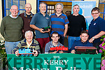 The Kerry Model Railway Club launching their Model train exhibition in Blennerville on Monday and it will be held over the Bank Holiday Weekend.<br /> Kneeling l-r, Billy Nolan, Leon Kelliher and Donal Coppeninger.<br /> Back l-r, Chris Dyer, Adwin De Groot, Billy Horgan, Harry Kelliher, Denis Murphy and Brendan O&rsquo;Brien.