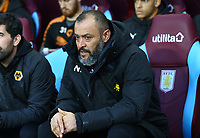 Wolverhampton Wanderers Manager Nuno<br /> <br /> Photographer Leila Coker/CameraSport<br /> <br /> The EFL Sky Bet Championship - Aston Villa v Wolverhampton Wanderers - Saturday 10th March 2018 - Villa Park - Birmingham<br /> <br /> World Copyright &copy; 2018 CameraSport. All rights reserved. 43 Linden Ave. Countesthorpe. Leicester. England. LE8 5PG - Tel: +44 (0) 116 277 4147 - admin@camerasport.com - www.camerasport.com