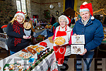 Amy O'Shea, Anita Galvin and Eric Anderson enjoying the Farmers Christmas Market in Miltown on Saturday morning.