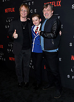 09 April 2018 - Hollywood, California - Billy Mumy, Maxwell Jenkins, Mark Hamill. NETFLIX's &quot;Lost in Space&quot; Season 1 Premiere Event held at Arclight Hollywood Cinerama Dome. <br /> CAP/ADM/BT<br /> &copy;BT/ADM/Capital Pictures