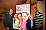 Guiding Light's Frank Dicopoulos & Lawrence Saint Victor (now Bold and The Beautiful) with Lisa Edmonds and Jenn Kehm (co-founders of Young Women's Breast Cancer Foundation at Chicos and at the Pittsburgh, PA Bridal Showcase and Women's Expo on March 21 and 22, 2015 at the David Lawrence Convention Center. The actors were there to benefit Young Women's Breast Cancer Awareness Foundation. On Friday preceeding they appeared at Chicos at the Galleria Mall in Mt. Lebanon, Pa. The actors signed, posed with brides from Fashions by Exquisite Bride and Sorelle and more. (Photos by Sue Coflin)