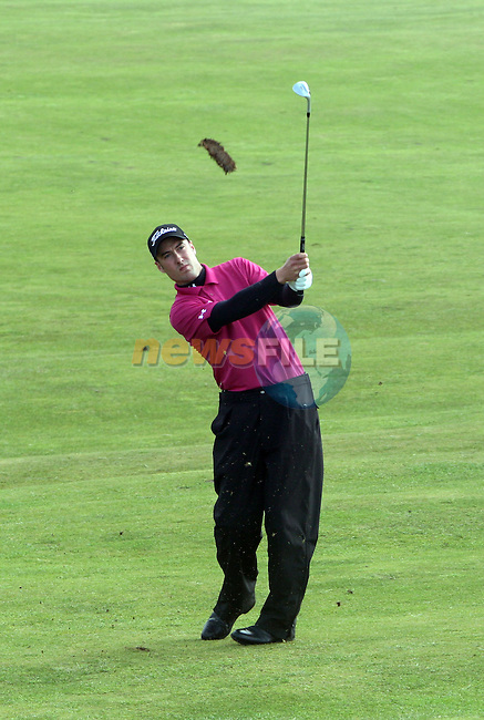 Ross Fisher on the 2nd day of the 3 Irish Open in Baltray...Photo NEWSFILE/Jenny Matthews.(Photo credit should read Jenny Matthews/NEWSFILE)....This Picture has been sent you under the condtions enclosed by:.Newsfile Ltd..The Studio,.Millmount Abbey,.Drogheda,.Co Meath..Ireland..Tel: +353(0)41-9871240.Fax: +353(0)41-9871260.GSM: +353(0)86-2500958.email: pictures@newsfile.ie.www.newsfile.ie.FTP: 193.120.102.198.
