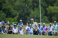 Billy Horschel (USA) chips on to 2 during round 2 of the AT&amp;T Byron Nelson, Trinity Forest Golf Club, at Dallas, Texas, USA. 5/18/2018.<br /> Picture: Golffile | Ken Murray<br /> <br /> <br /> All photo usage must carry mandatory copyright credit (&copy; Golffile | Ken Murray)