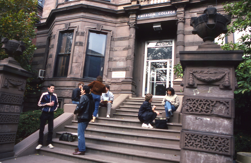 130 Beacon Street, campus, student, students, 1983
