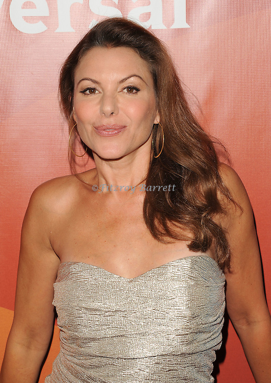 Keri Wuhrer arriving at the NBCUniversal Summer TCA 2014 Day 2 held at The Beverly Hilton Hotel Beverly Hills, CA. July 14, 2014.