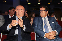 Arrigo Sacchi e Fabio Capello<br /> Napoli 06-06-2017  Napoli Hotel Continental<br /> Premio Football Leader 2017 - I migliori votano i migliori<br /> Football Leader 2017 Award - The best vote the best<br /> Foto Cesare Purini / Insidefoto
