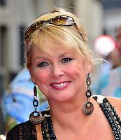 Cheryl Baker<br /> The &quot;Bula Quo!&quot; UK film premiere, Odeon West End cinema, Leicester Square, London, England.<br /> July 1st, 2013<br /> headshot portrait black dangling earrings <br /> CAP/BF<br /> &copy;Bob Fidgeon/Capital Pictures