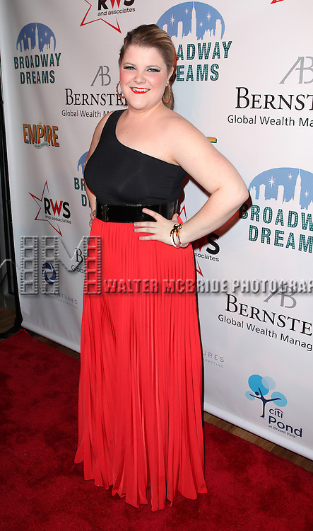 Ryann Redmond attending the Broadway Dreams Foundation's 'Champagne & Caroling Gala' at Celsius at Bryant Park, New York on December 10, 2012