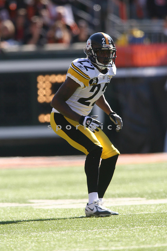 WILLIAM GAY, of the Pittsburgh Steelers, in action during the Steelers games against the Cincinnati Bengals, in Cincinnati, Ohio on October 28, 2007.  ..The Steeler won the game 24-13...COPYRIGHT / SPORTPICS..........