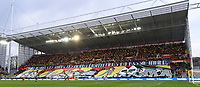 20191221 - LENS , FRANCE : illustration picture shows the tifo in the Trannin tribune pictured during the soccer match between Racing Club de LENS and Niort , on the 19 th matchday in the French Ligue 2 at the Stade Bollaert Delelis stadium , Lens . Saturday 21 December 2019. PHOTO DIRK VUYLSTEKE   SPORTPIX.BE