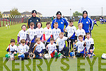 PARNELLS: The Tralee Parnells who took on Lixnaw in the under 8st hurling blitz at Causeway Hurling Grounds on Saturday morning. the tRalee Parnells, Peter Doyle, Oran kerins, Rory Reen, Dan O'Mahony, David Chute, Barry Hamilton, Art O'Sullivan, Ciara Palmer, Jessica O'Loughlin, Diarmuid Walsh, Oisin Gibney, Bobby Byrnes, Niall Collins and Thomas Palmer, mentors were, John Palmer, Ger O'Brien and Rory Kerins.